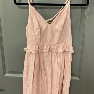 NWT pink bcbg dress